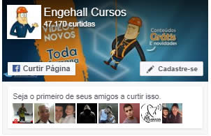 Facebook do curso nr10 da Engehall